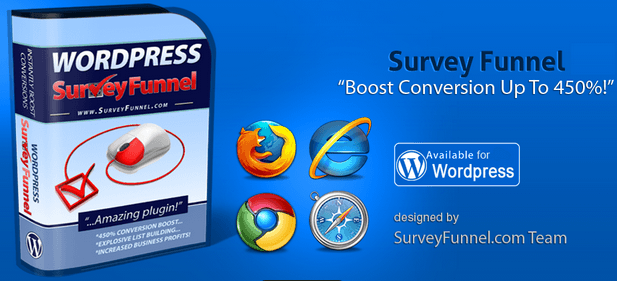 Survey Funnel – Create Curiosity | Build List (WordPress Plugin)