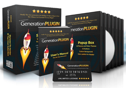 Generation Plugin – All-In-One ListBuilding WordPress Plugin
