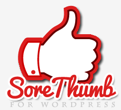 The SoreThumb WordPress Plugin (Capture Your Visitors' Attention)