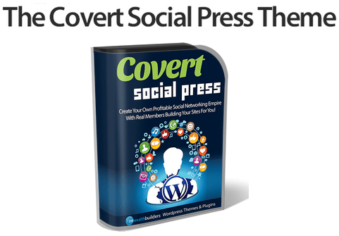 Covert Social Press Theme (WordPress Theme For Social Networking)