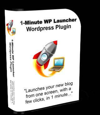 George Katsoudas' 1-Minute WP Launcher WordPress Plugin