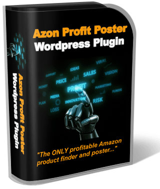 Azon Profit Poster WordPress Plugin