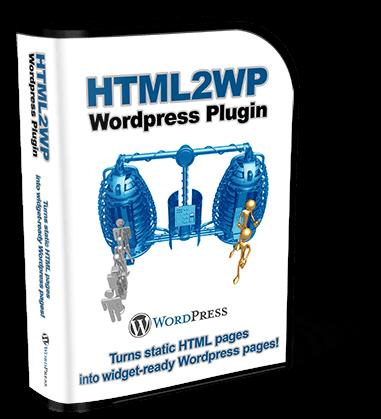 George Katsoudas' HTML2WP WordPress Plugin