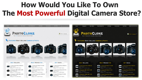 PhotoClone Script – Your Amazon Digital Camera, Photo And Video WordPress Store