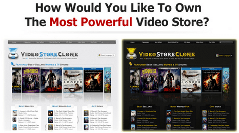 VideoStoreClone Script – Your Very Own Amazon Video DVDs Store