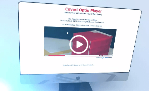 Mark Dulisse' Covert Player Optin Edition (Build Your List With Your Videos)