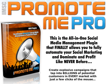 IMSC Promote Me Pro (Automated Social Media Management WordPress Plugin)