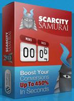 Scarcity Samurai WordPress Plugin
