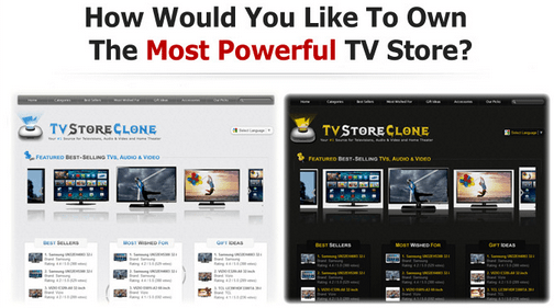 TVStoreClone Script - Your Amazon TV Affiliate Store