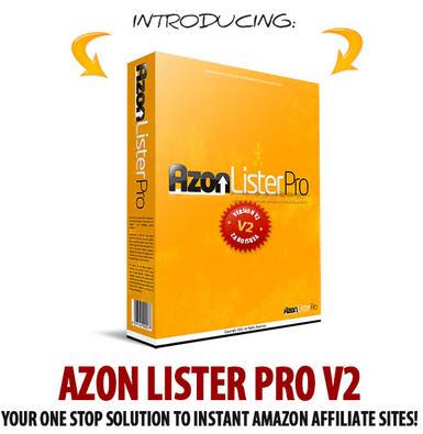 Azon Lister Pro V2 WordPress Plugin