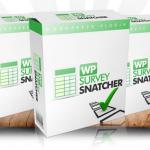 WP SurveySnatcher – Survey, Quiz And List Builder On WordPress