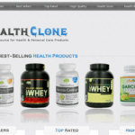 HealthClone – Fully Monetized WordPress Affiliate Store For Amazon Affiliates