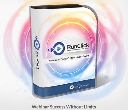RunClick Webinar And Video Conferencing Software