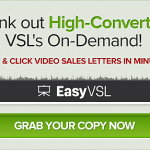 EasyVSL – Online Video Sales Letter Creation Software