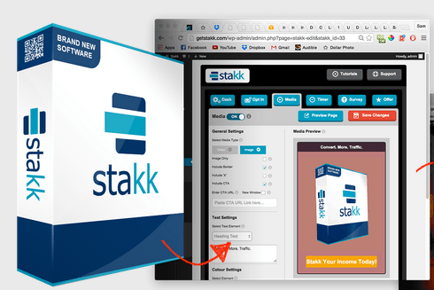 Stakk WordPress Plugin