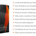 Engagifire – Create Push Notifications, Opt-In Forms & Exit Offers