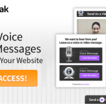 VoiceStak – Capture Voice & Video Messages On Your Site