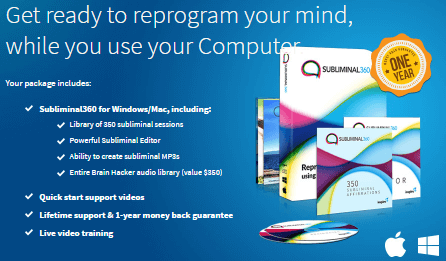 Subliminal360 Subliminal Messages Software