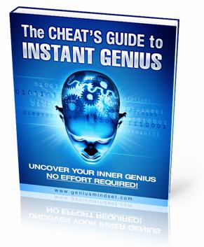 genius mindset the cheat s guide to instant genius dexter recommends rh dexterrecommends com the cheat's guide to instant genius